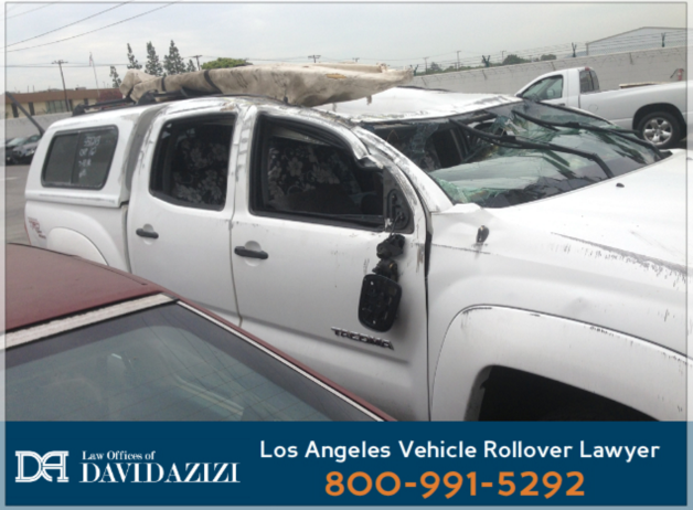 Rollover Car Accident Lawyer Los Angeles - David Azizi