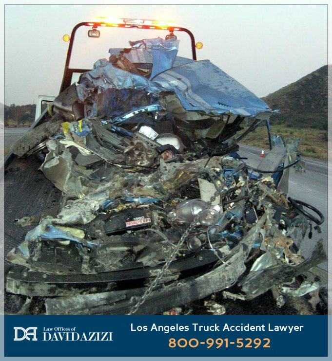 Delivery Van Truck Crash - Law Offices of David Azizi