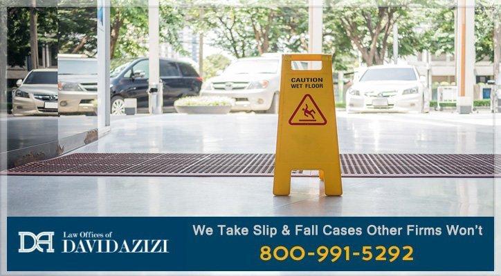 Slip and Fall Lawyer Los Angeles - David Azizi