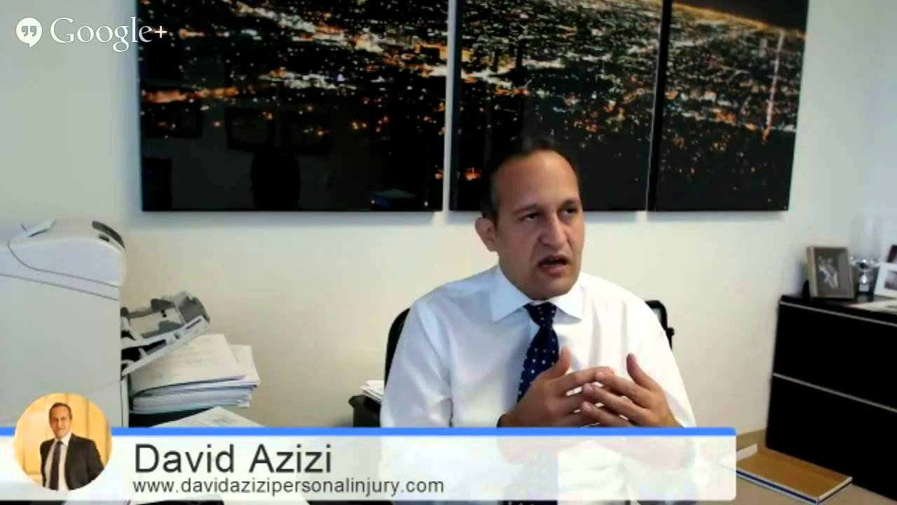 Los Angeles Car Accident Lawyer | David Azizi - A Proven ...