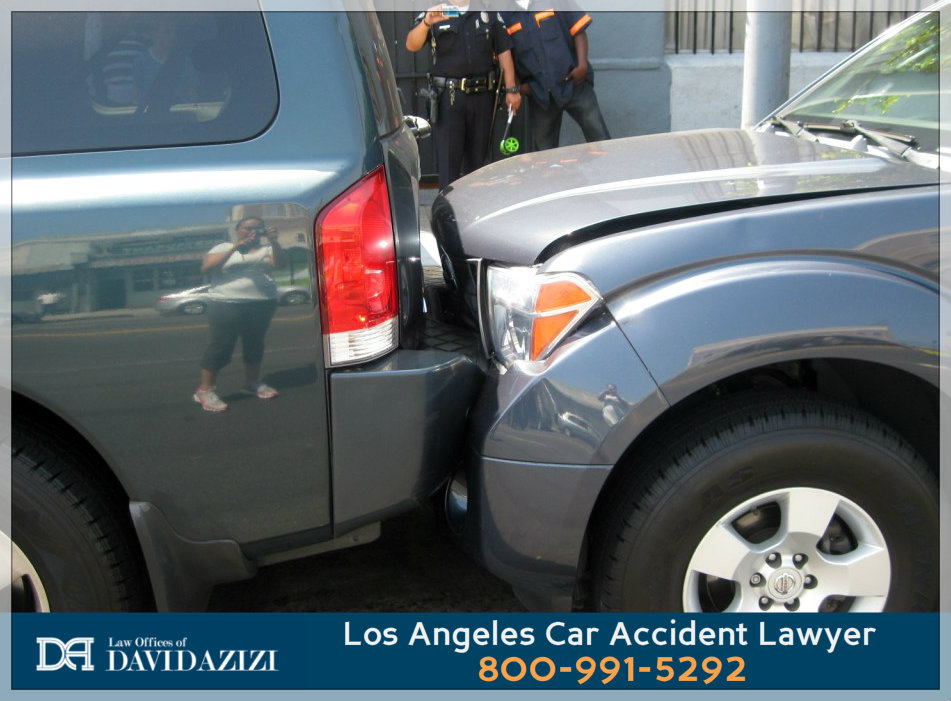 Rear Ended in Car Accident - LA Auto Crash Lawyer David Azizi
