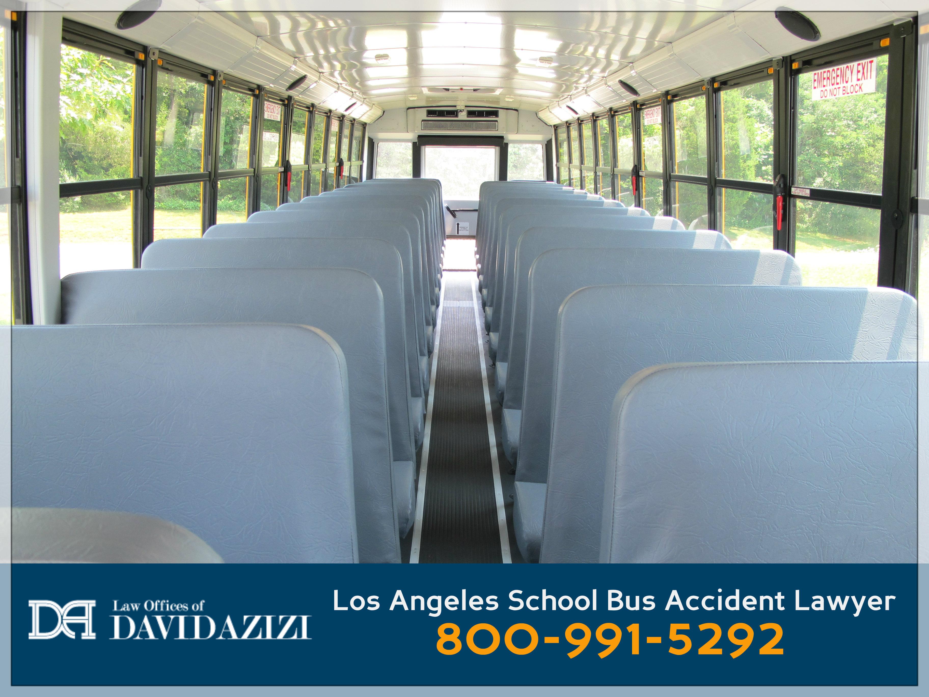 School Bus Interior - Bus Accident Lawyer David Azizi