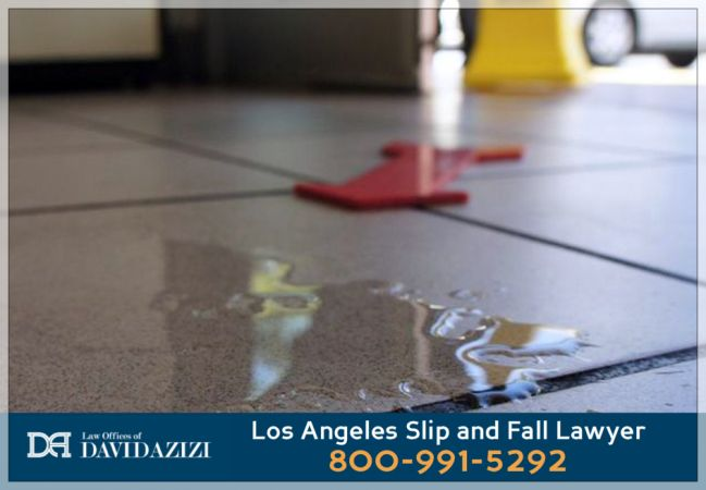 Los Angeles Lawyer for Accidents Caused by Slip & Fall - David Azizi