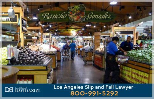 Slips and Falls - Personal Injury Attorney Los Angeles - David Azizi