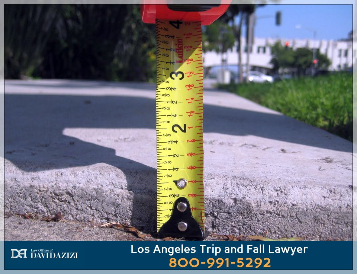 Trip and Fall in Fullerton