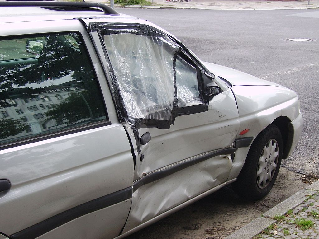 Damage After Car Crash - Law Offices of Davis Azizi