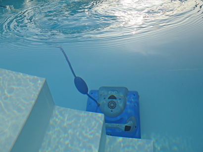Cleaning tool in pool