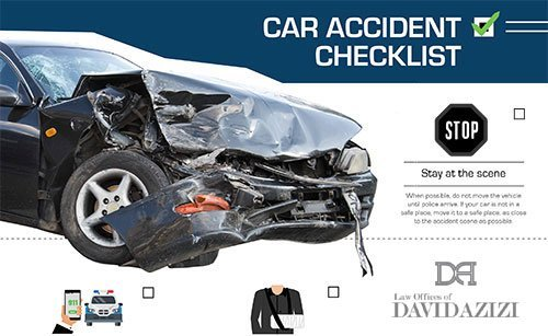 Car Accident Checklist - PDF Download for Your Glove Compartment