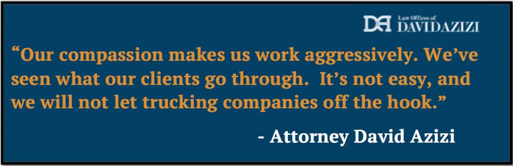 Truck Accident Lawyer Los Angeles - David Azizi