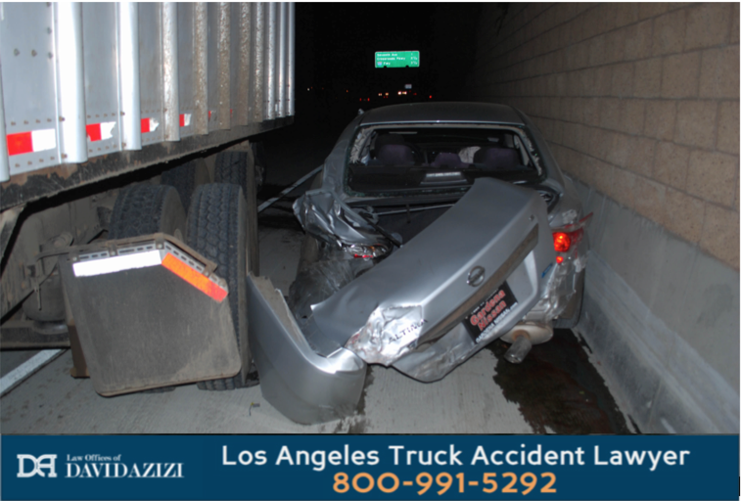 Truck Crash Vehicle Pinned - David Azizi