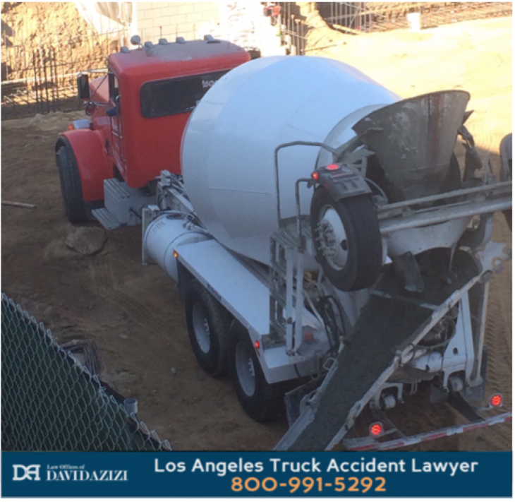 Cement Truck Accident Lawyer Los Angeles - Law Offices of David Azizi