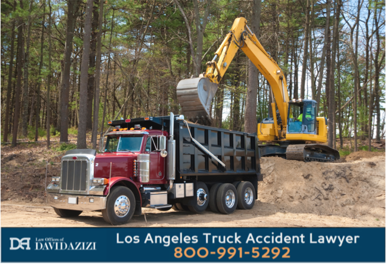 Dump Truck Accident Lawyer - Law Offices of David Azizi