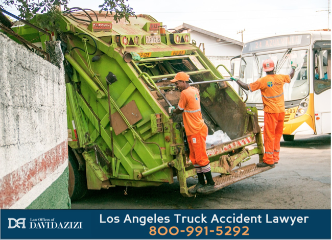 Rear Load Garbage Truck - Law Offices of David Azizi