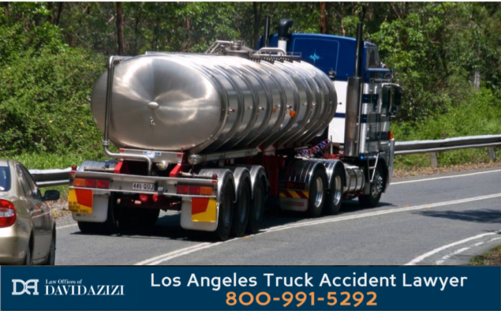 Quote Tanker Truck Accident Law Firm - David Azizi