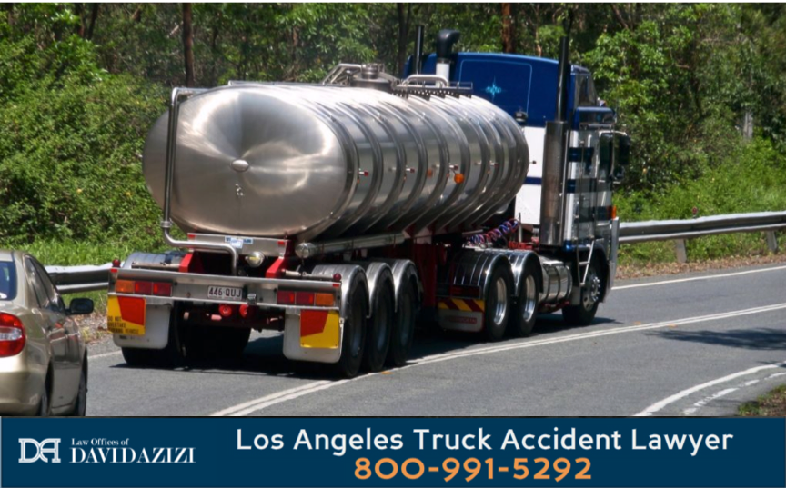 Tanker Truck Accident Lawyer - David Azizi