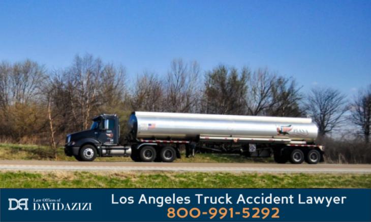 Tanker Fuel Truck Accident Lawyer - David Azizi