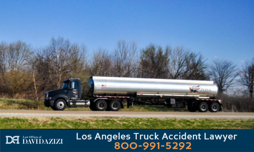Fuel and Oil Tanker Truck Accident Lawyer - David Azizi