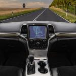image of inside of car looking forward