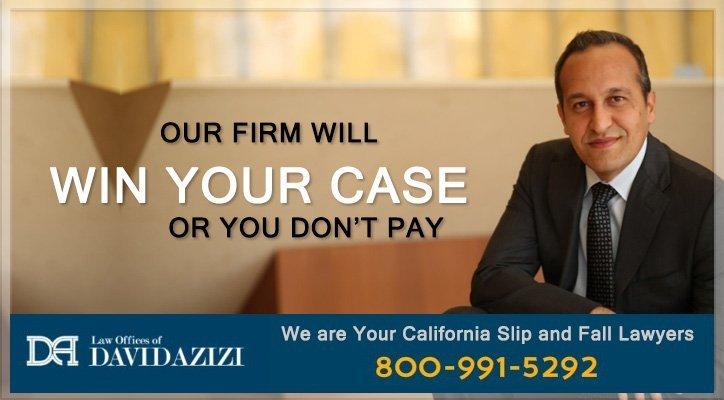 Los Angeles Slip and Fall Law Firm - David Azizi